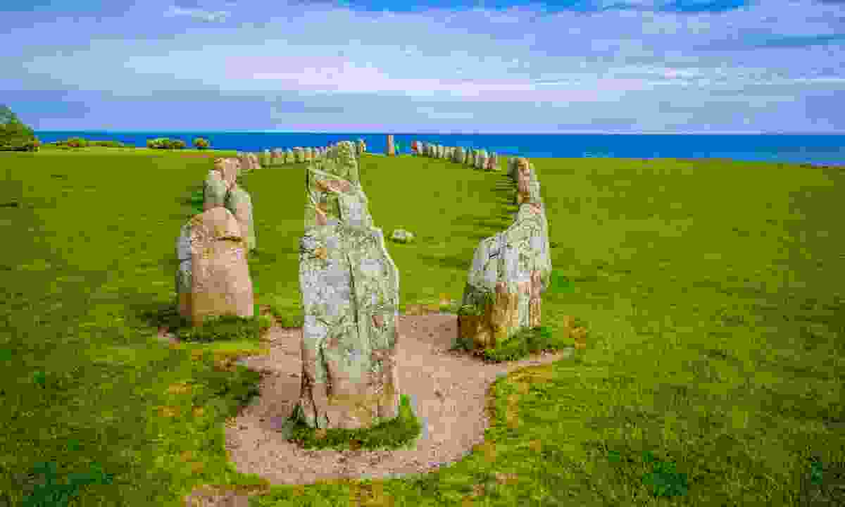 Sweden's very own Stonehenge – Ales Stenar (Shutterstock)