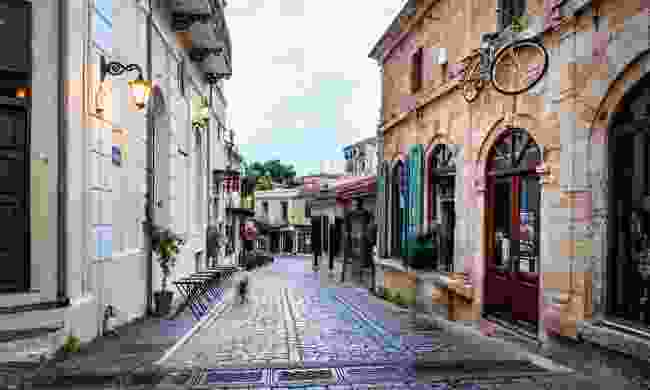 A charming street in Xanthi