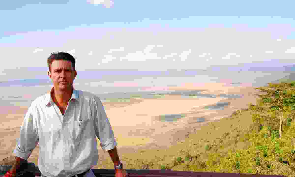 Top safari guide, Garth Hovell.