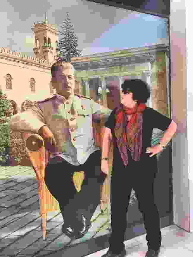 Lyn with Uncle Joe (Scott Bennett)