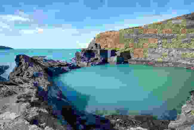 The Blue Lagoon in Pembrokeshire, Wales - not Iceland! (Shutterstock)