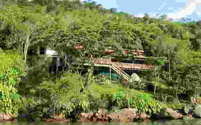 A view of Casa Cairuçu from the outside (Casa Cairuçu's official website)