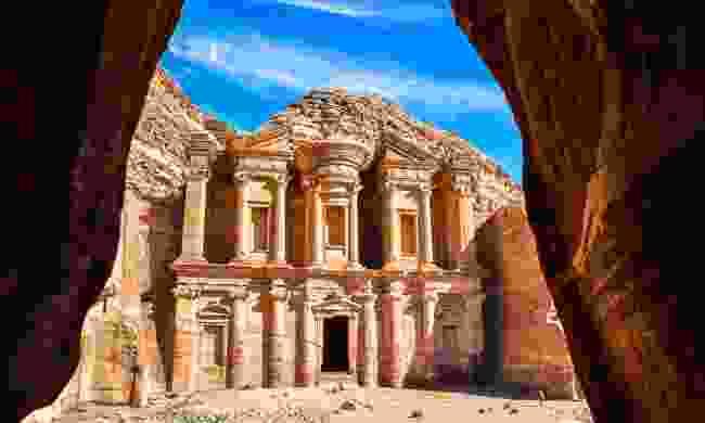 The Treasury in Petra, Jordan (Shutterstock)