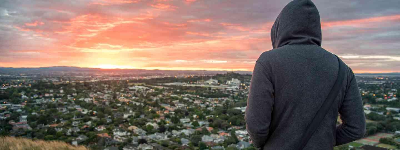 Man in a hoody (Dreamstime)