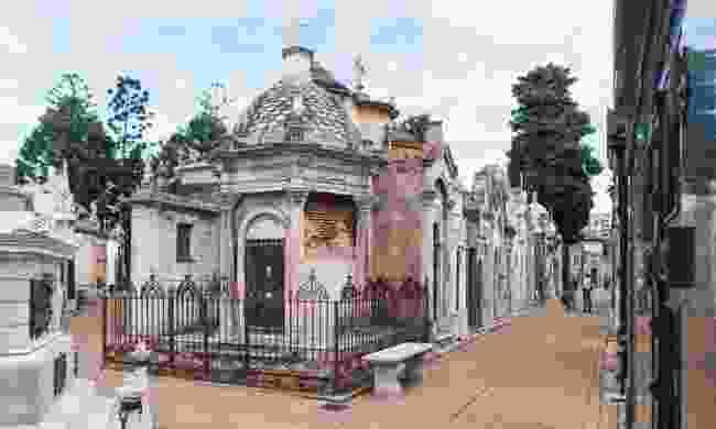 Cementerio de la Chacarita (Dreamstime)