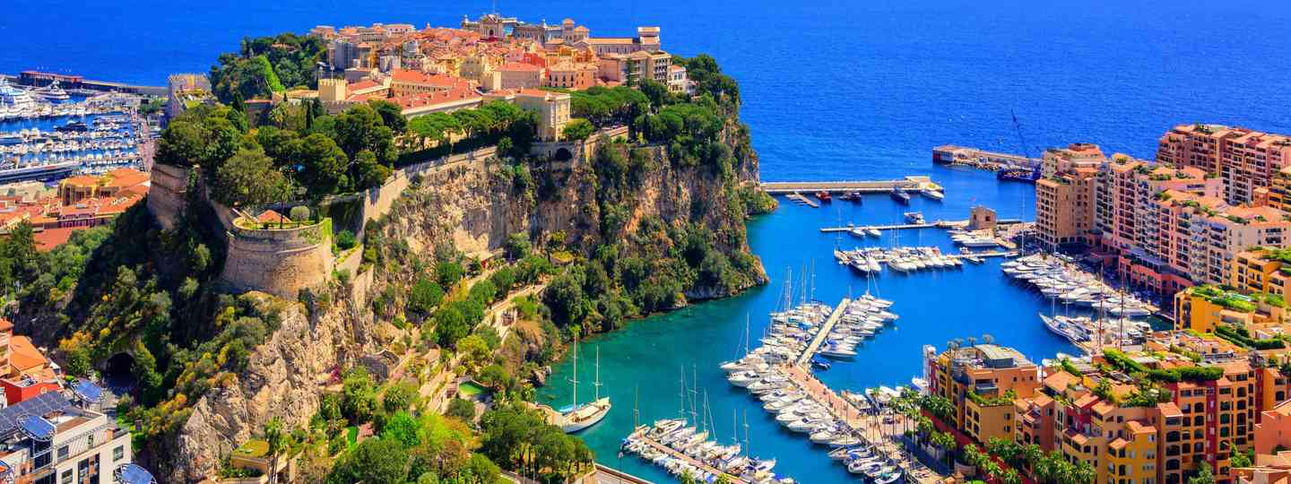 Prince Palace and old town of Monaco, France (Dreamstime)