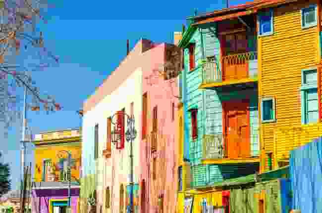 El Caminito neighbourhood in Buenos Aires, Argentina (Shutterstock)