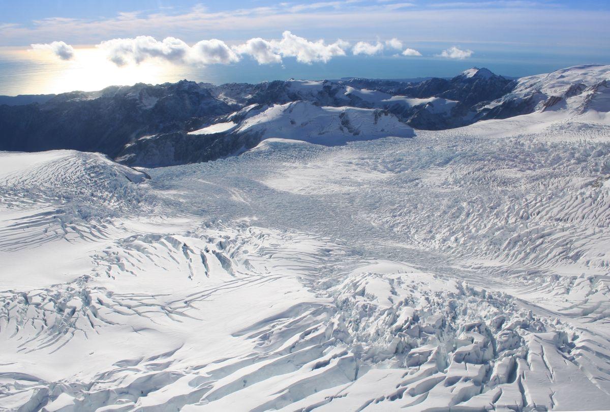 Franz Josef Glacier, New Zealand (Dreamstime)