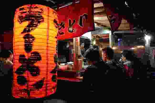 Fukuoka food stall (Shutterstock)