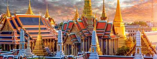 The Grand Palace in Bangkok, Thailand (Shutterstock)