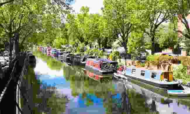Regent's Canal walk, London (Shutterstock)
