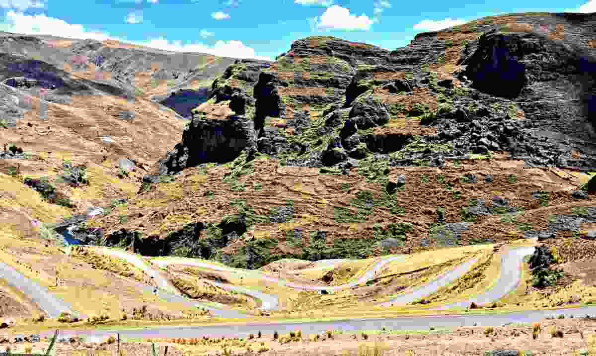 Roads rolling across the Andes (Shutterstock)