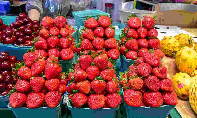 Sample fresh produce in Vancouver (Shutterstock)