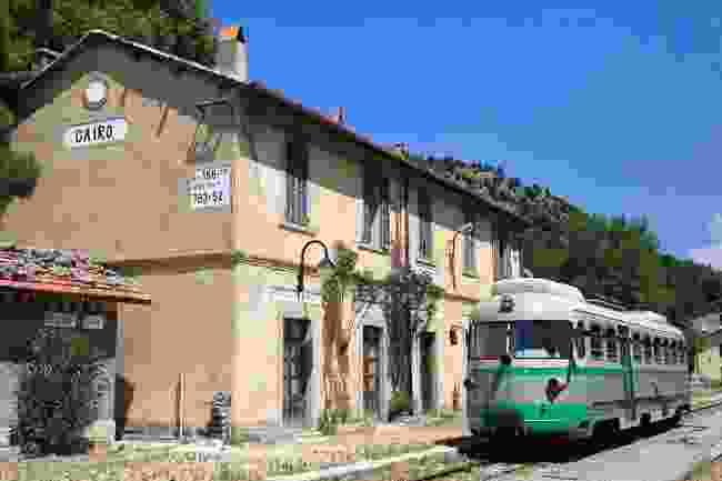 The Little Green Train of Sardinia (Shutterstock)
