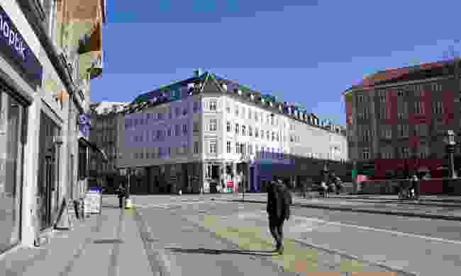 A quiet street in a usually bustling part of Copenhagen (Shutterstock)