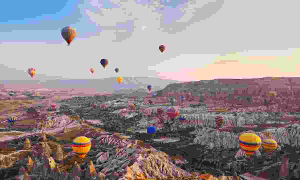 Cappadocia, Turkey. (Shutterstock)