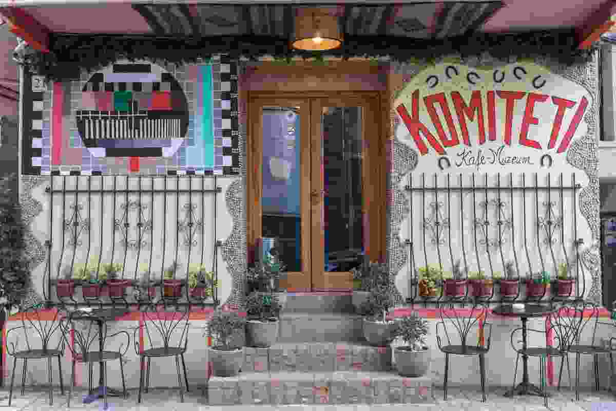 The exterior of Komiteti-Kafe Muzeum, Tirana (Shutterstock)