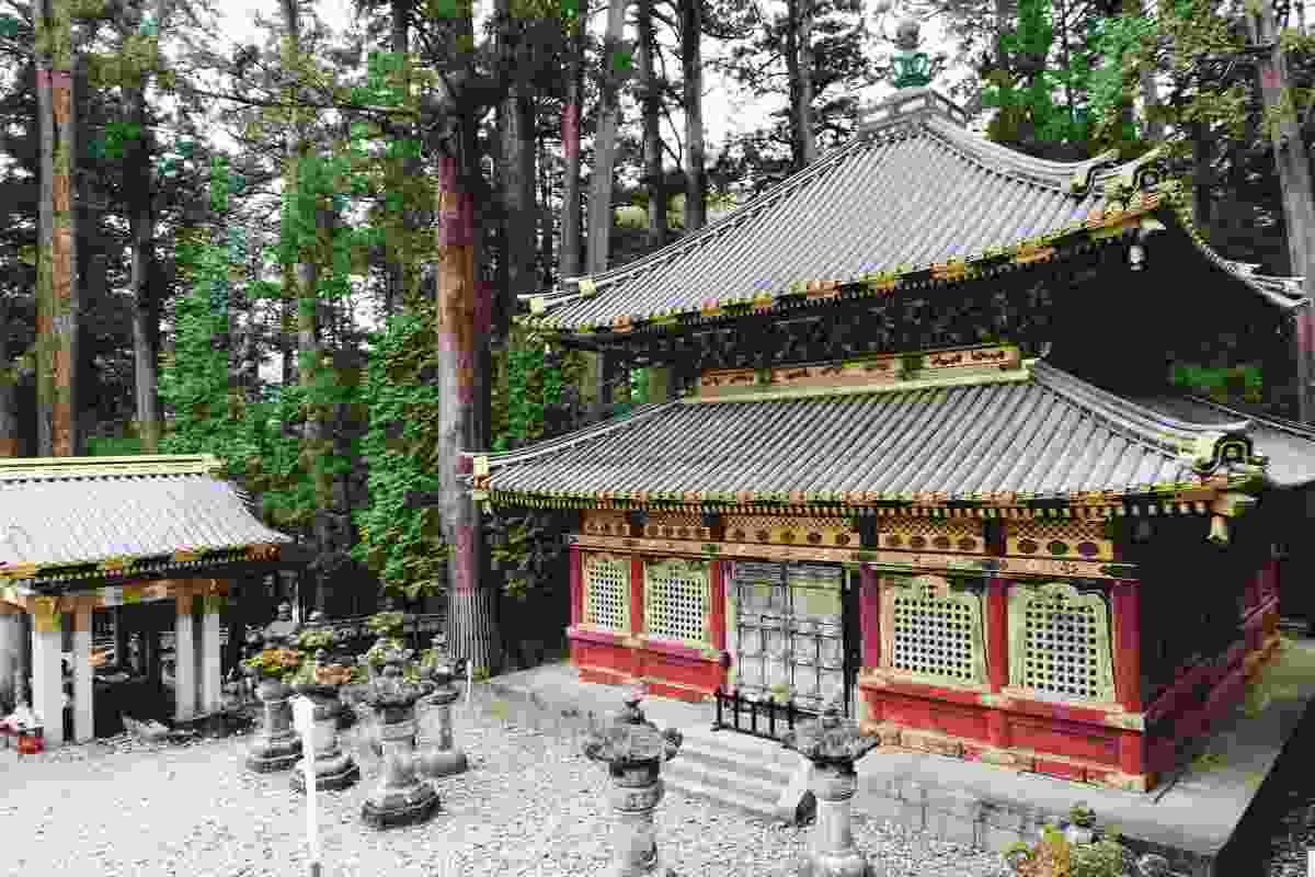 One of Nikko's ornate shrines