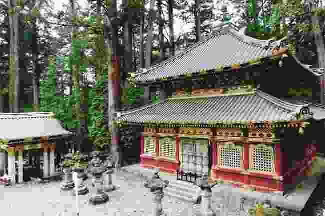 One of Nikko's ornate shrines