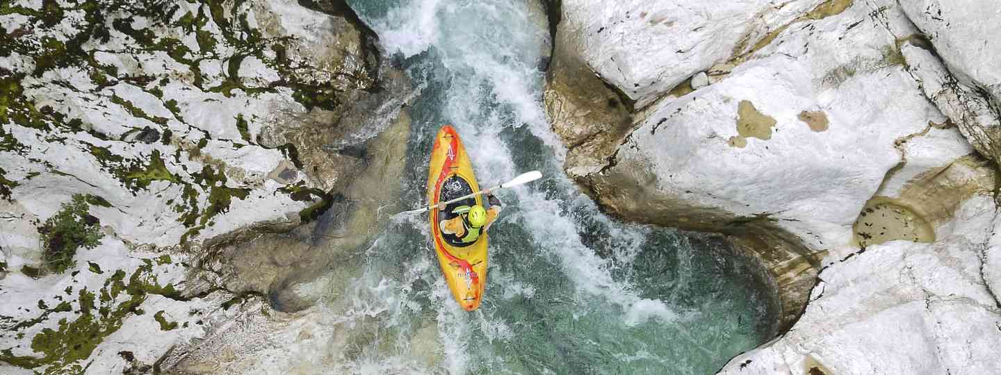 'Solo kayak' through Soca Valley, Triglav National Park, Slovenia (Rachael Tailford)