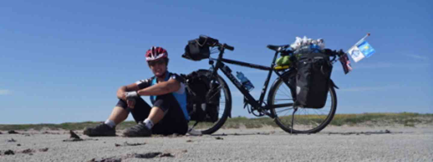 Sarah on the first part of her round-the-world journey (Sarah Outen)