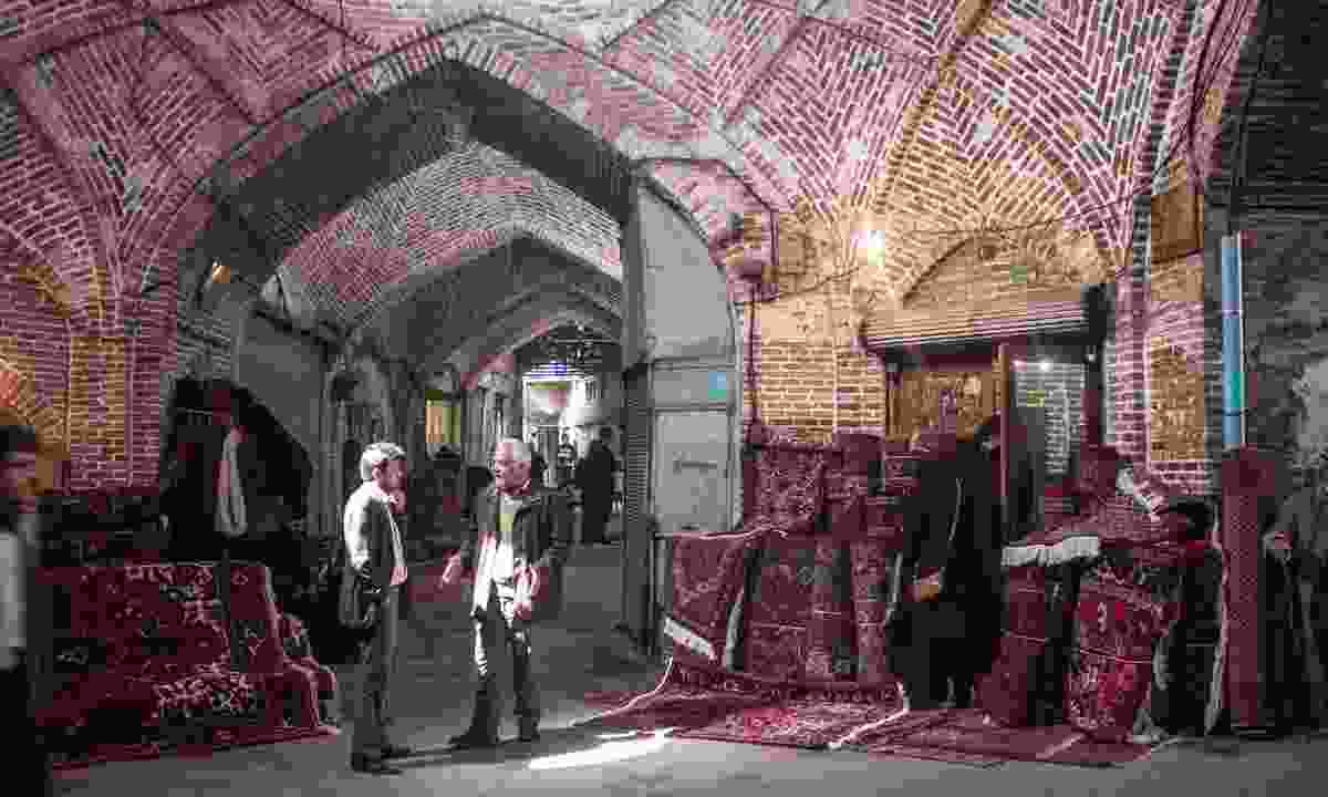 Tabriz Bazaar (Dreamstime)
