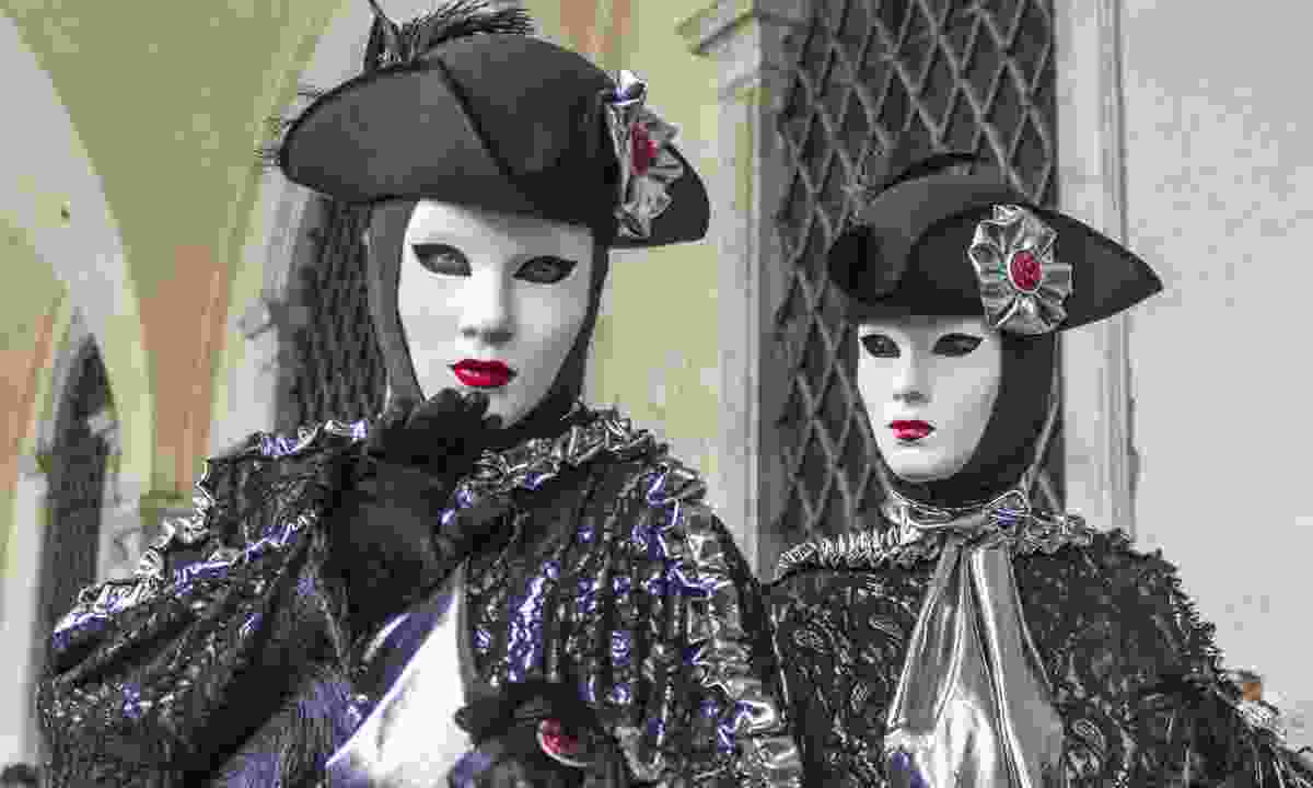 The mask of carnival in Venice (Dreamstime)