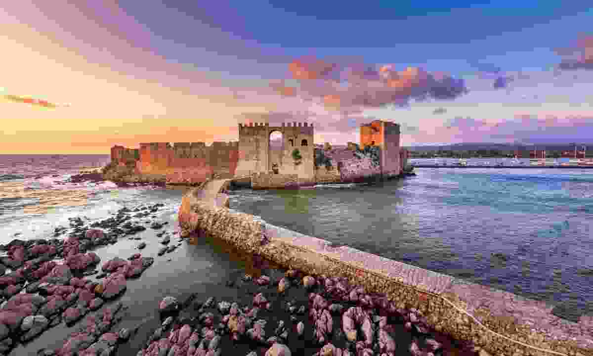 Methoni Castle at sunset  (Shutterstock)