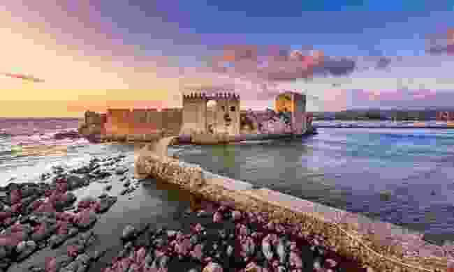 Methoni Castle at sunset  (Shutterstock)