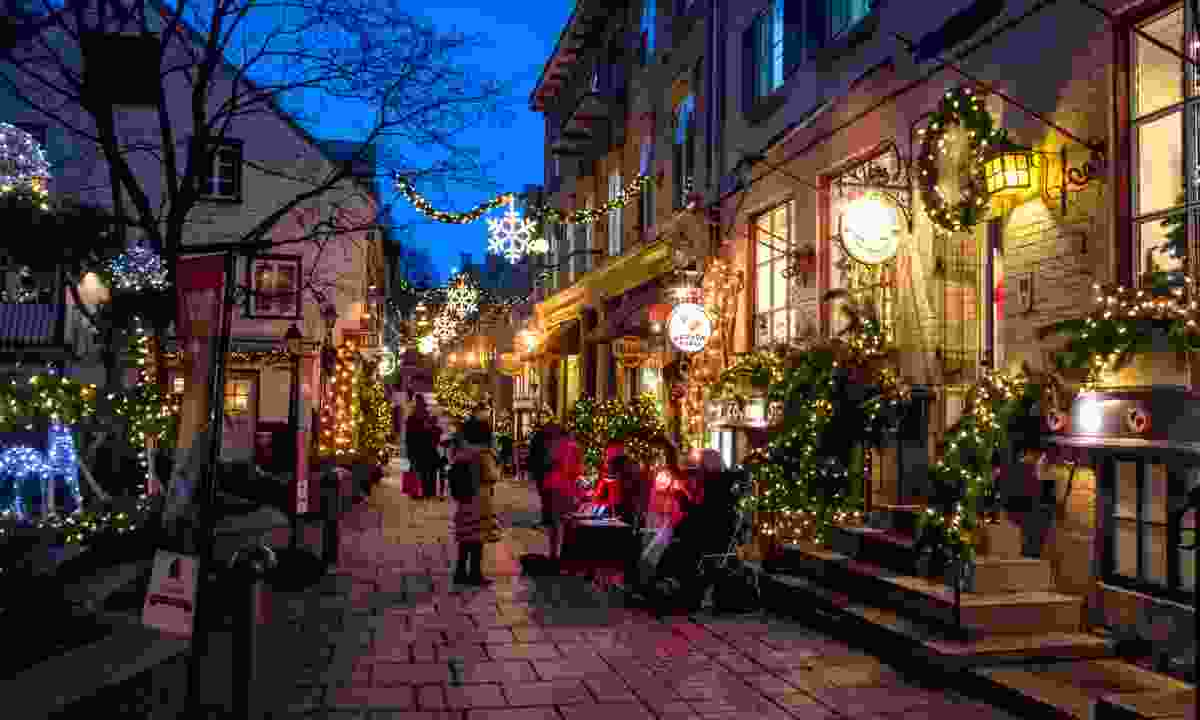 Christmas in Québec (Dreamstime)