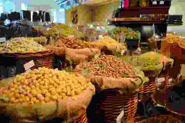 Dried fruit and nuts in the UAE (Shutterstock)