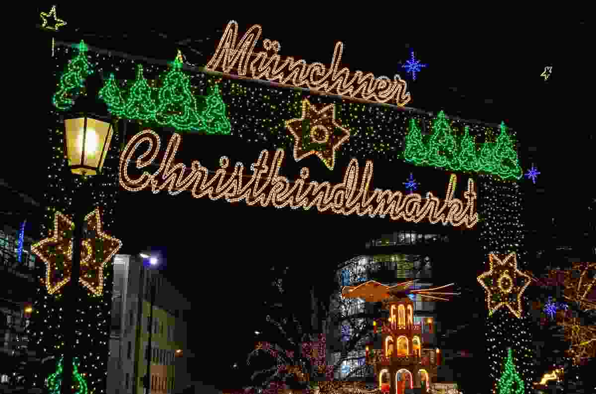 Munich Christmas Market, Germany (Shutterstock)