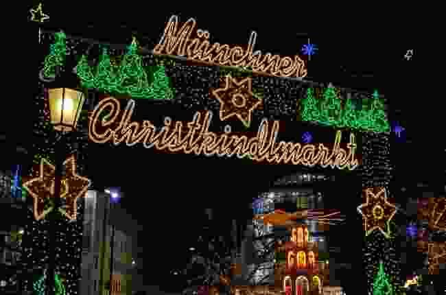 Munich Christmas Market, Germany (Shutterstock)