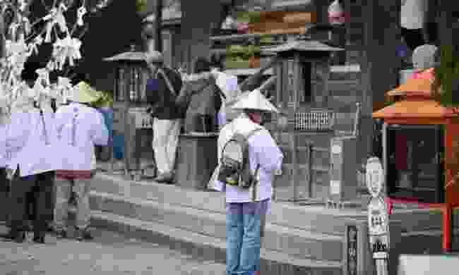 On the Shikoku Pilgrimage route (JNTO)