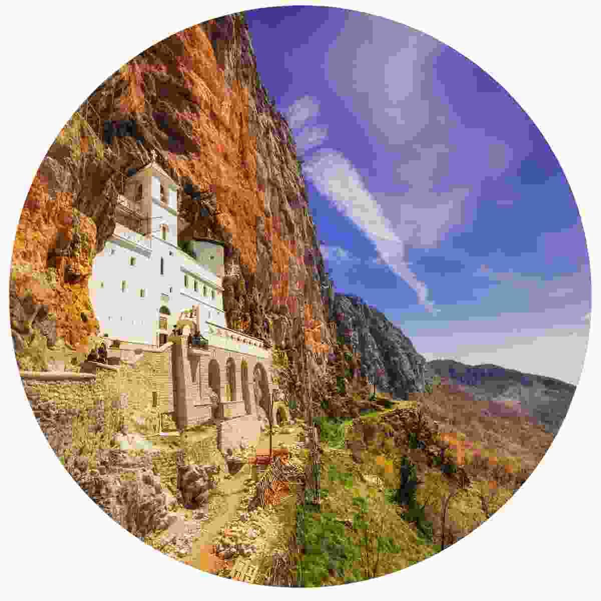 Ostrog Monastery, Montenegro (Shutterstock)