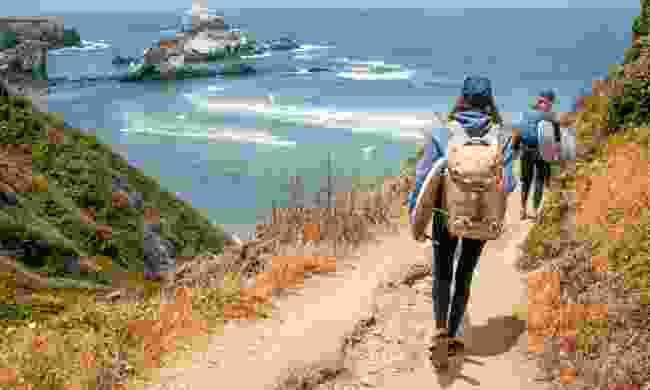 Strolling along the coast (Eagle Creek)