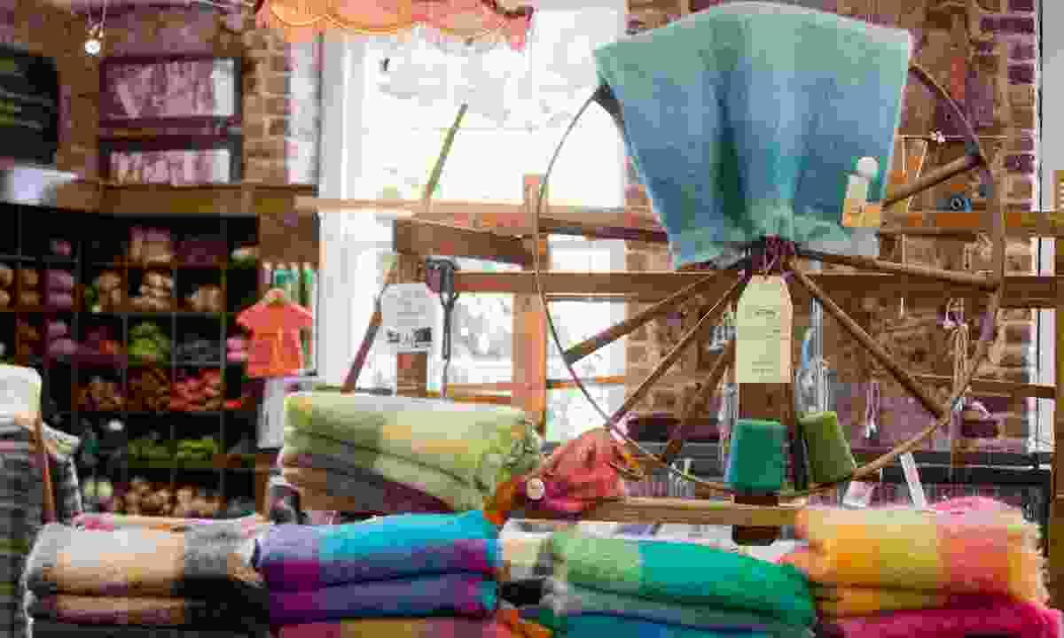 Visit the Avoca handweavers (Brian Morrison)