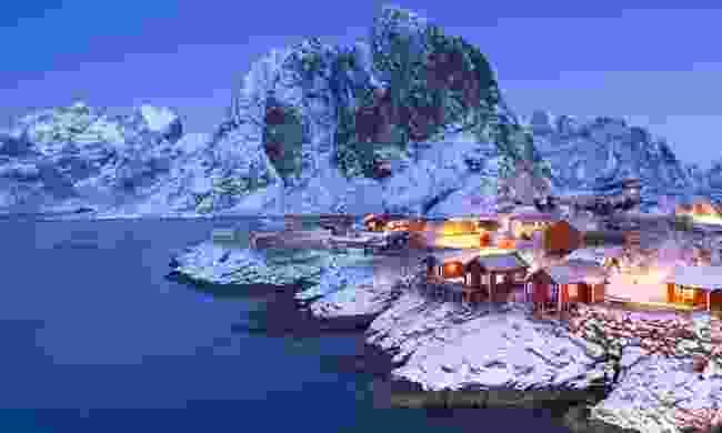 The Lofoten Islands in winter (Dreamstime)