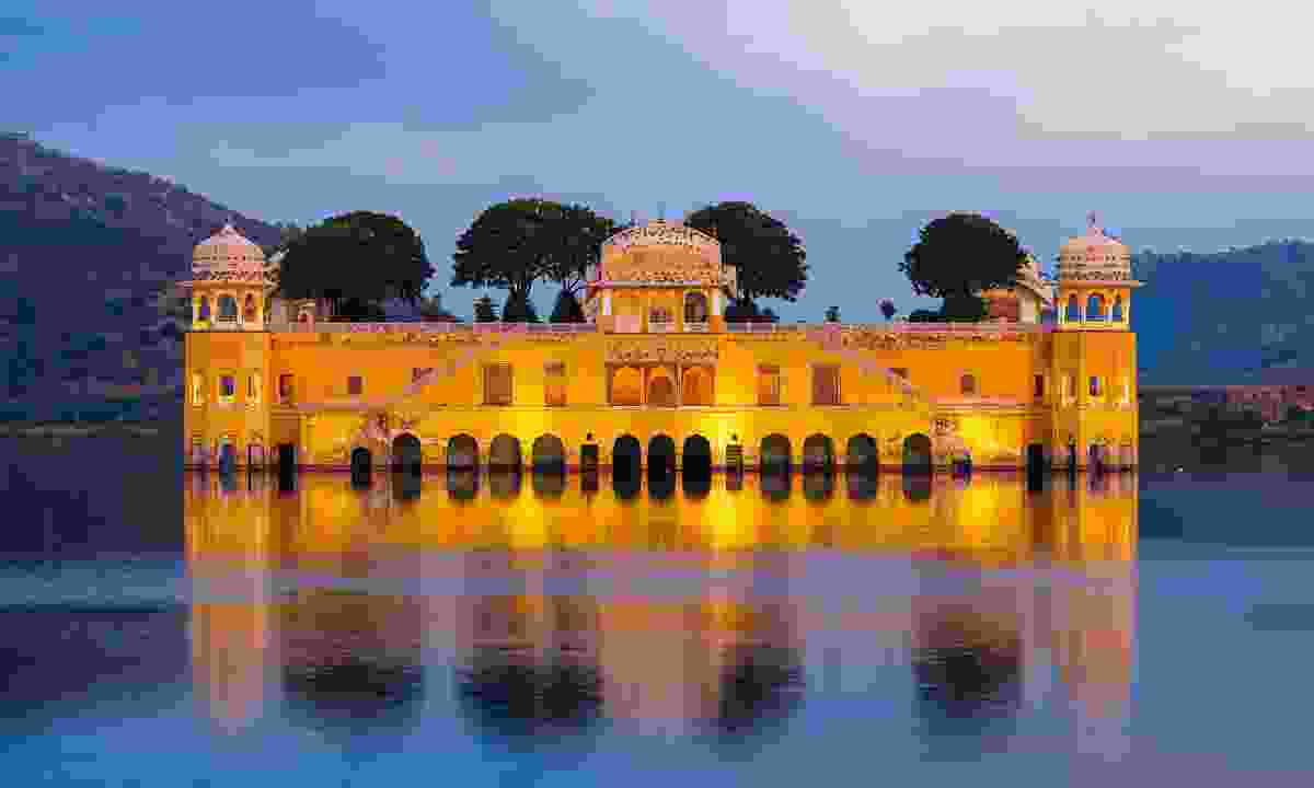 Jal Mahal Water Palace, Rajasthan, India (Dreamstime)