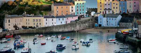 Where in the UK is this harbour?