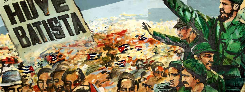 Anti-Batista mural in El Museo de la Revolución (Dreamstime)