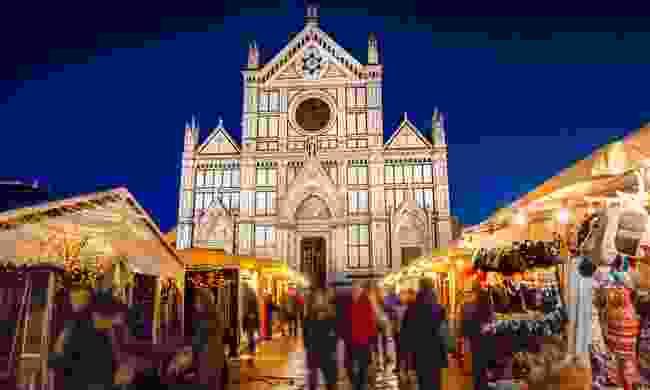 Piazza Santa Croce at Christmas (Shutterstock)
