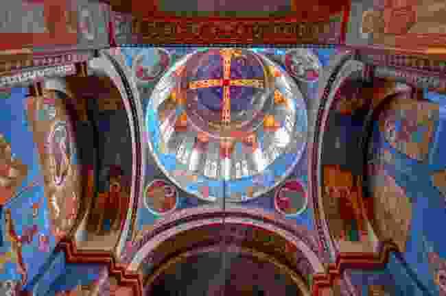 The interior of a church in Georgia's capital, Tbilisi (Shutterstock)