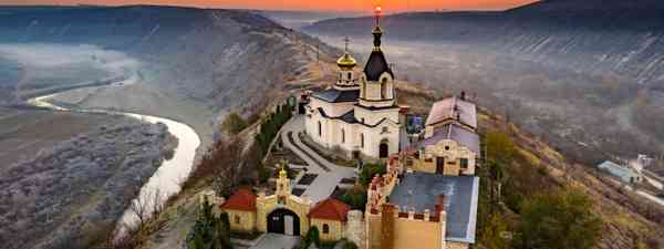 Orhei Monastery at sunrise in Moldova Republic (Shutterstock)