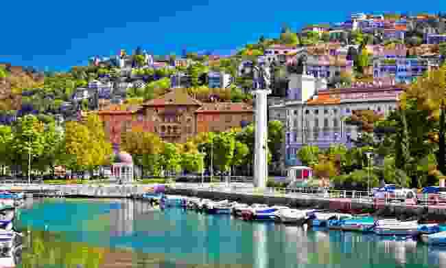 Rijeka harbour (Shutterstock)
