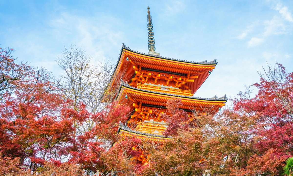 Kiyomizu-dera temple (Dreamstime)