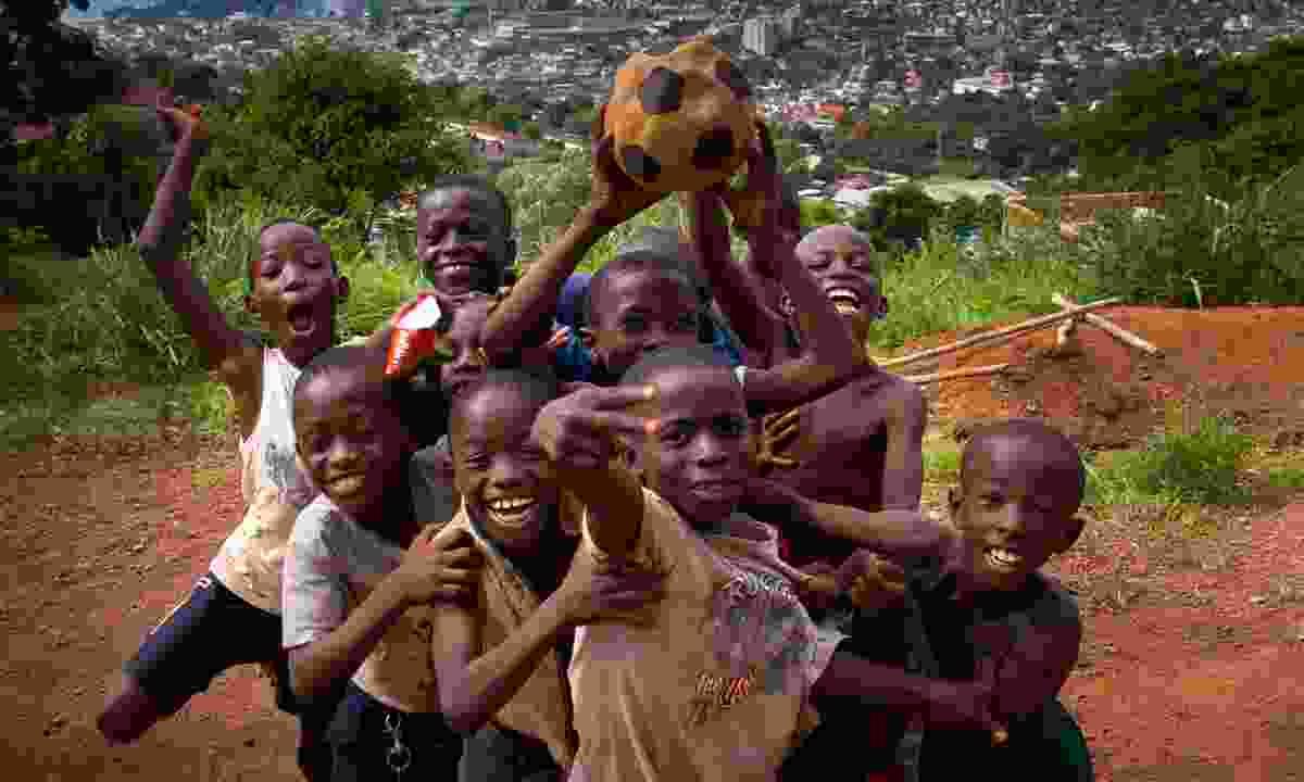 Street Child's Makeni marathon funds projects like developing rural schools (Dreamstime)