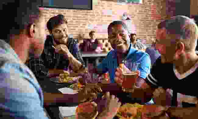 Don't be too shy to talk to fellow travellers during dinner (Dreamstime)