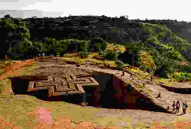 Lalibela, a world wonder located in Ethiopia (Wild Frontiers)