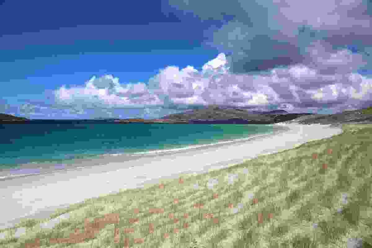 Deserted Traigh Mheilein beach on the coast of North Harris (Graeme Green)